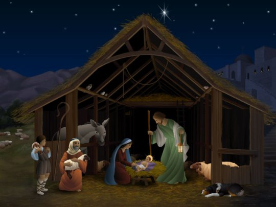 Animated Nativity Scene Screen Saver from Pixel-Artistry.