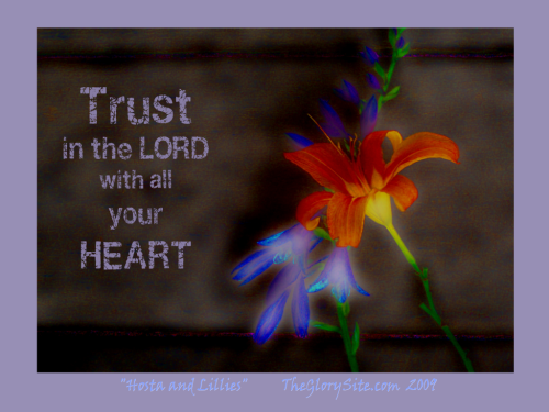 Trust in The Lord Free Christian Wallpaper